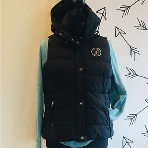 Abercrombie and Fitch puffy vest